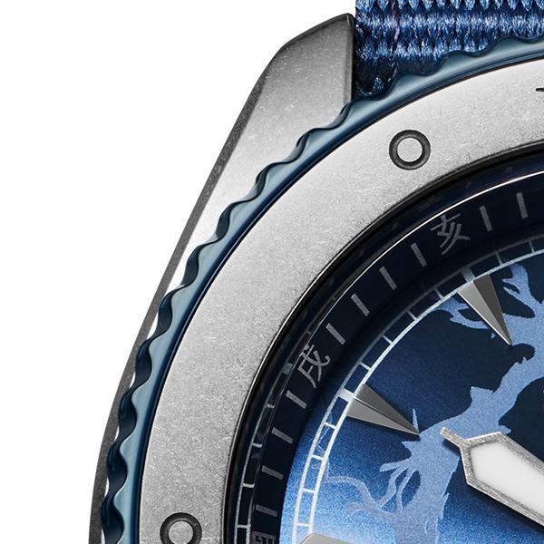 12月11日発売/予約 セイコー 5スポーツ NARUTO & BORUTO ナルト&ボルト コラボレーション 限定 サスケ SBSA091 メンズ 腕時計 メカニカル 日本製 theclockhouse-y 06