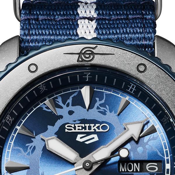 12月11日発売/予約 セイコー 5スポーツ NARUTO & BORUTO ナルト&ボルト コラボレーション 限定 サスケ SBSA091 メンズ 腕時計 メカニカル 日本製 theclockhouse-y 07