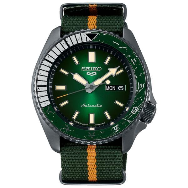 12月11日発売/予約 セイコー 5スポーツ NARUTO & BORUTO ナルト&ボルト コラボレーション 限定 ロック・リー SBSA095 メンズ 腕時計 メカニカル 日本製|theclockhouse-y|02