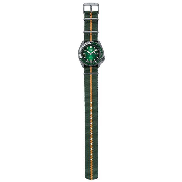 12月11日発売/予約 セイコー 5スポーツ NARUTO & BORUTO ナルト&ボルト コラボレーション 限定 ロック・リー SBSA095 メンズ 腕時計 メカニカル 日本製|theclockhouse-y|11