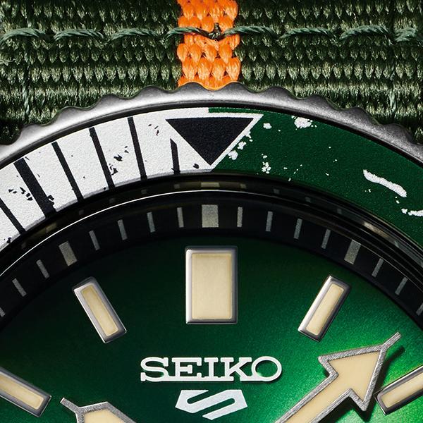 12月11日発売/予約 セイコー 5スポーツ NARUTO & BORUTO ナルト&ボルト コラボレーション 限定 ロック・リー SBSA095 メンズ 腕時計 メカニカル 日本製|theclockhouse-y|05