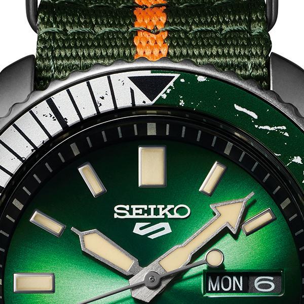 12月11日発売/予約 セイコー 5スポーツ NARUTO & BORUTO ナルト&ボルト コラボレーション 限定 ロック・リー SBSA095 メンズ 腕時計 メカニカル 日本製|theclockhouse-y|07