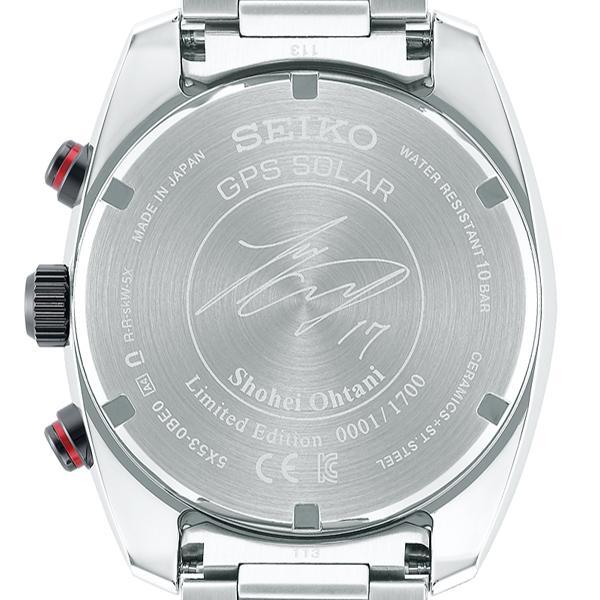 セイコー アストロン 大谷翔平 2020 限定モデル SBXC081 メンズ 腕時計 GPSソーラー電波 エンゼルス ボブルヘッド付 コアショップ専売モデル|theclockhouse-y|04