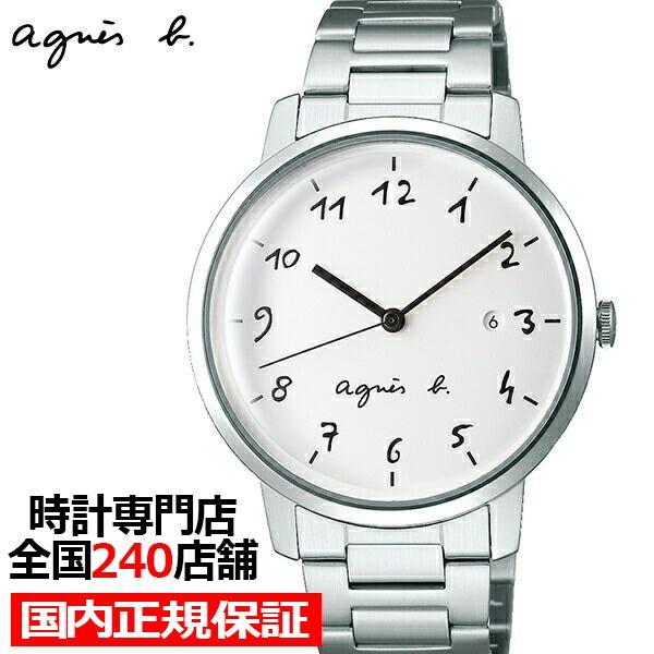 8e84f4c71f アニエスベー FCRK991 agnes b マルチェロ メンズ 腕時計 SEIKO セイコー agnes b. ウォッチ marcello  カレンダー 手書き