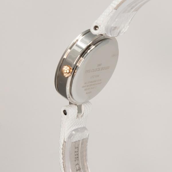 3月新作 ザ・クロックハウス LFC1004-PK1B フェミニンカジュアル レディース 腕時計 ソーラー 白レザー ピンク 3年間保証 雑誌掲載 THE CLOCK HOUSE theclockhouse 04