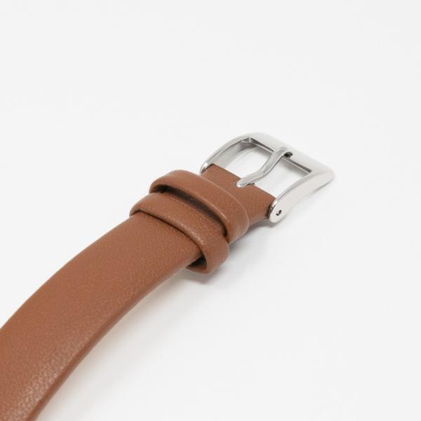 本日ポイント最大25倍 ザ・クロックハウス ユーディー LUD1001-WH3B ユニバーサルデザイン レディース 腕時計 ソーラー 茶レザー ホワイト UD4月新作|theclockhouse|06