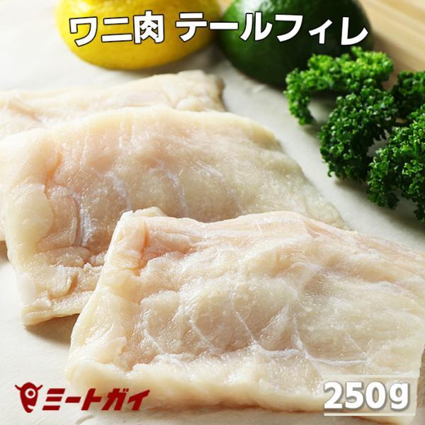 ワニ肉 ヒレ/フィレ ステーキ 250g クロコダイルミート 鰐肉