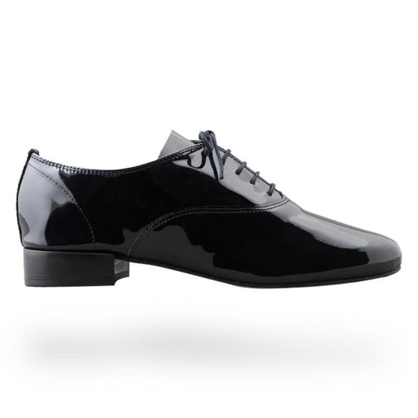 正規取扱店 repetto レペット レディース Zizi Oxford Shoe ジジ レディース Patent leather Black 牛革 エナメルブラック