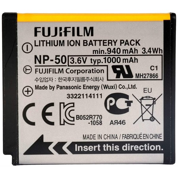 FUJIFILM NP-50 Finepix F900EXR 用 純正 バッテリー