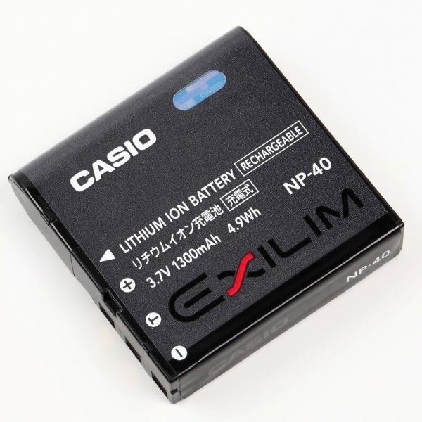 カシオ NP-40 リチウムイオン充電池 EXILIM