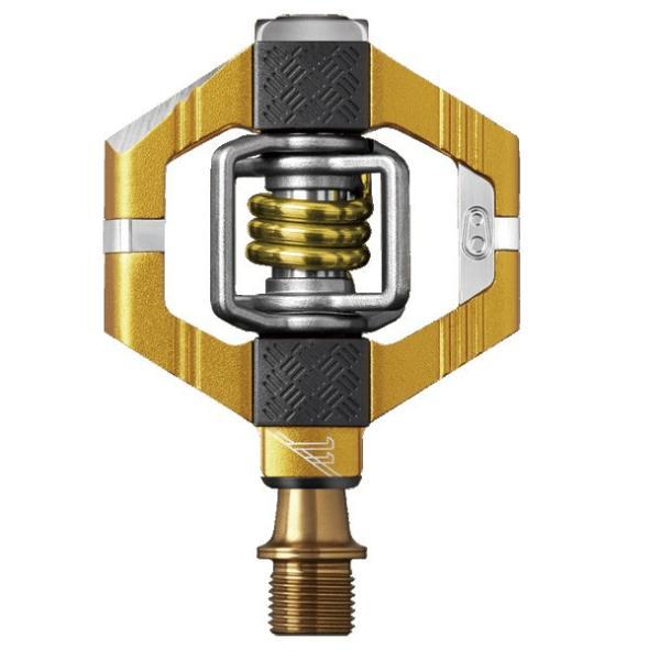 crankbrothers/クランクブラザーズ ペダル CANDY11/キャンディ11 ゴールド/ゴールドスプリング(574608) チタン製