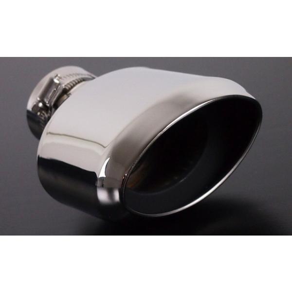 プリウス 50系 マフラーカッター スラッシュカット/シングルタイプ シルバー ステンレス素材 外装品 アクセサリー パーツ カスタム 予約/2月下旬入荷予定|thepriz|04