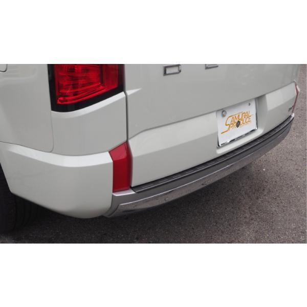 新型 デリカ D5 D:5 リアバンパーステップガード 1P 車体保護ゴム付き 選べる2色 スタンダードグレード専用 予約 /10月10日頃入荷予定|thepriz|11