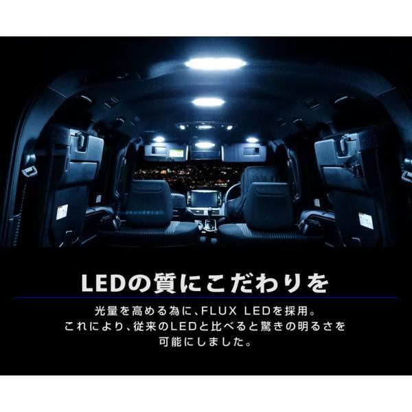 ノア ヴォクシー 80系 LED ルームランプ 7点 176発 高輝度 FLUX ホワイト トヨタ NOAH VOXY カスタム パーツ ドレスアップ 室内ライト 予約/2月下旬入荷予定|thepriz|04