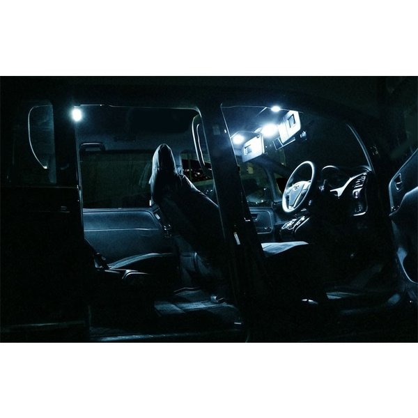 ノア ヴォクシー 80系 LED ルームランプ 7点 176発 高輝度 FLUX ホワイト トヨタ NOAH VOXY カスタム パーツ ドレスアップ 室内ライト 予約/2月下旬入荷予定|thepriz|06