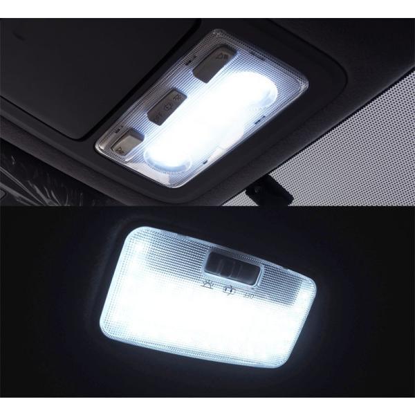 ノア ヴォクシー 80系 LED ルームランプ 7点 176発 高輝度 FLUX ホワイト トヨタ NOAH VOXY カスタム パーツ ドレスアップ 室内ライト 予約/2月下旬入荷予定|thepriz|08