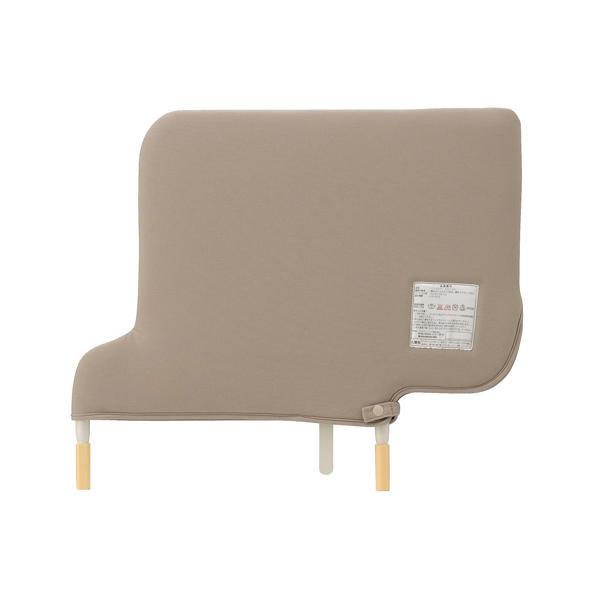 パラマウントベッド製 ベッドサイドレール KS-151QC スイングアーム介助バーと組み合わせる短いソフトカバー付きベッドサイドレール