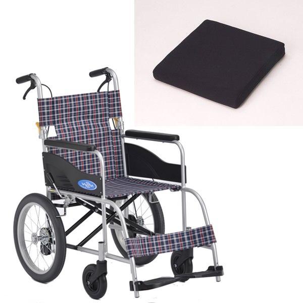 クッション付き+NEO-2(ネオ2) 日進医療器製 お得なセット・車椅子専用セラピークッション付 セラピーならメーカー正規保証付き/条件付き送料無料 安い/お買い得|therapy-shop