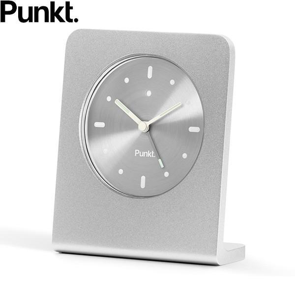 プンクト Punkt. AC01 silver シルバー テーブルクロック アラームクロック 目覚まし時計 置き時計 シンプル おしゃれ ジャスパー・モリソン 誕生日   贈り物|thewatchshopwebstore|02
