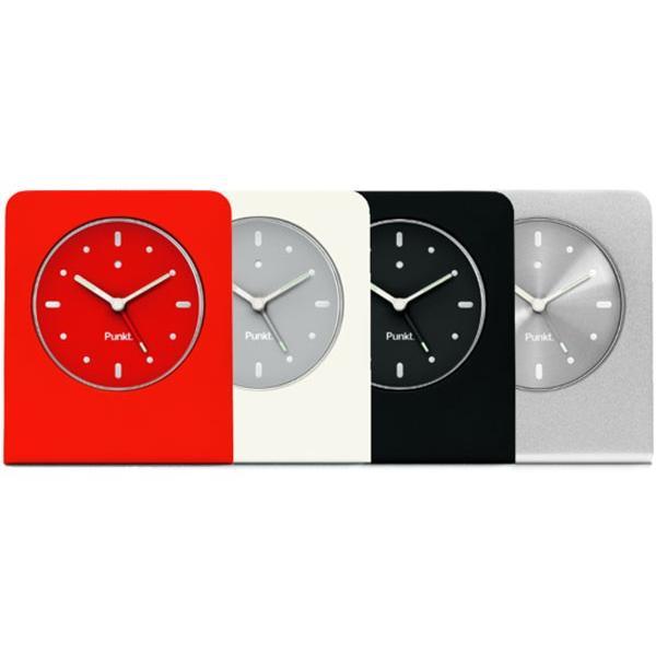プンクト Punkt. AC01 silver シルバー テーブルクロック アラームクロック 目覚まし時計 置き時計 シンプル おしゃれ ジャスパー・モリソン 誕生日   贈り物|thewatchshopwebstore|08