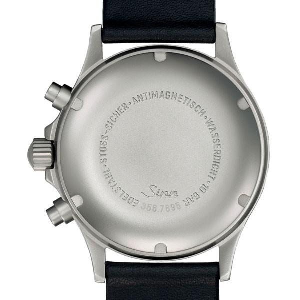 66cec14dcf ... 無金利ローン可 ジン Sinn 356.FLIEGER クロノグラフ レザーバンド メンズ 腕時計 時計 ...