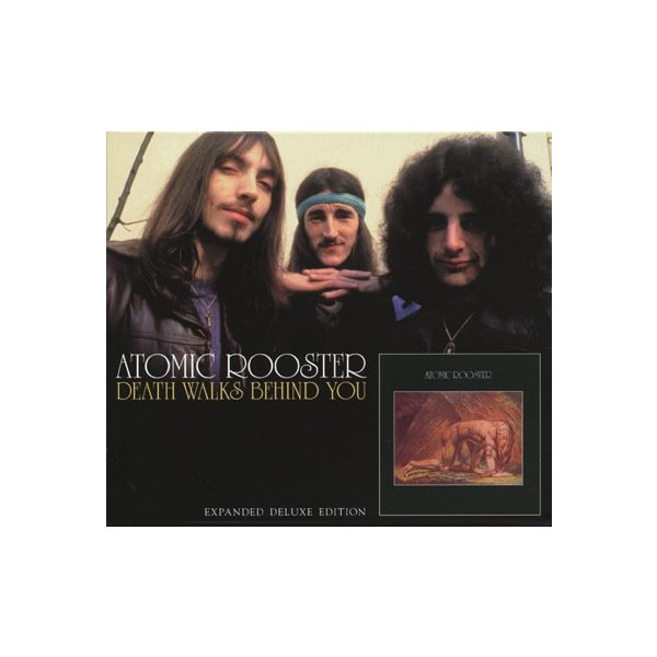 ATOMIC ROOSTER/Death Walks Behind You (1970/2nd) (アトミック・ルースター/UK)