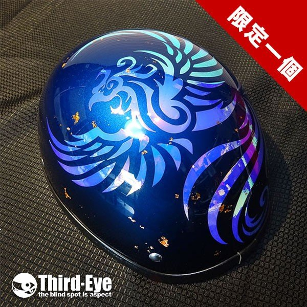限定 / 鳳凰クレイジーホログラム / ブルー / XLサイズ|thirdeye