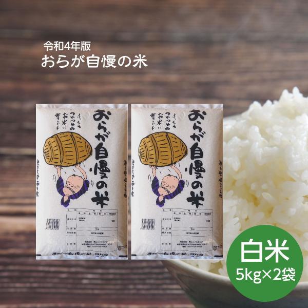 米 お米 10kg おらが自慢の米 白米 5kg×2袋 岩手の米屋オリジナルブレンド 令和2年