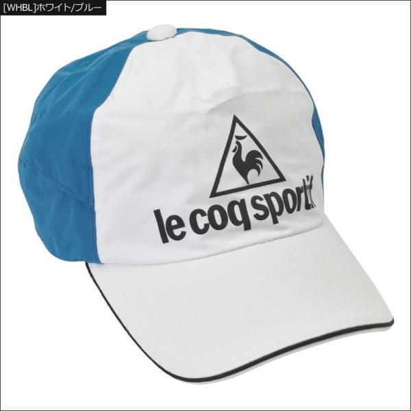 ルコックスポルティフ 2019 RAIN FORCER LIGHT レインキャップ QGBNJC00 19SS Le coq sportif ルコックゴルフ キャップ 帽子 %off|thirdwave-365sports|05