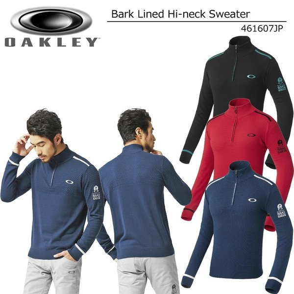2899ba5efc219 オークリー メンズ バーク ラインド ハーフジップ ハイネックセーター 461607JP Bark Lined Hi-neck Sweater 秋冬  ...