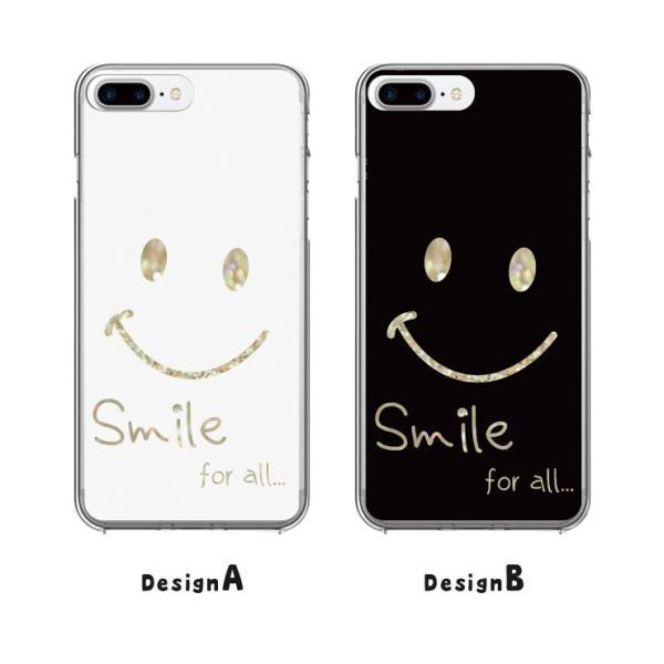 iPhone11 Pro Max X XSMax XR ハードケース カバー ケース Xperia XZ galaxyS9 スマイル ペア にこちゃん かわいい|three-o-one|02