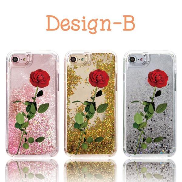 キラキラ 動く グリッター ラメ 流れる スマホケース iPhone11 Pro Max XR X XS Max 童話 バラ 薔薇 魔法 ガーリー|three-o-one|04