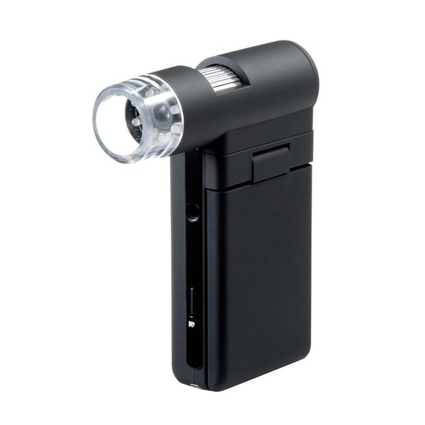 代引不可 サンワサプライ デジタル顕微鏡 LPE-05BK