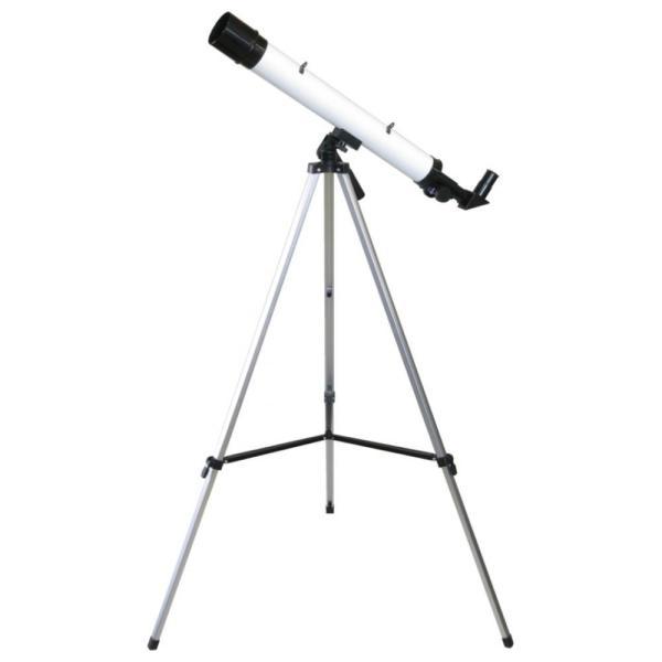 代引不可 MIZAR(ミザールテック) 屈折式天体望遠鏡 30〜75倍 45mm口径 経緯台 白 TS-456