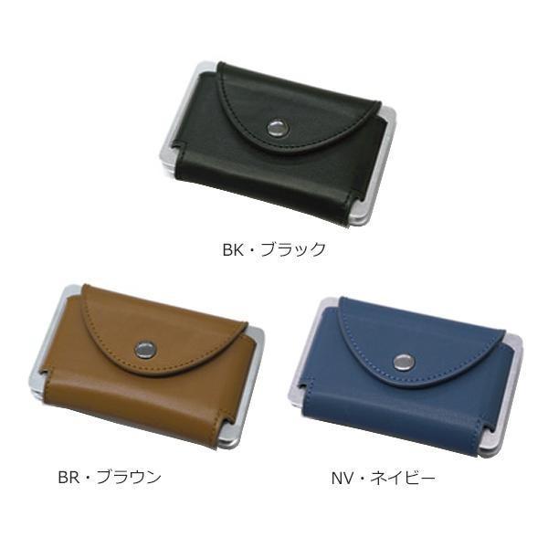 Sandy Card Case スキミング防止カードケース XM914 代引不可 本革 名刺入れ レザー