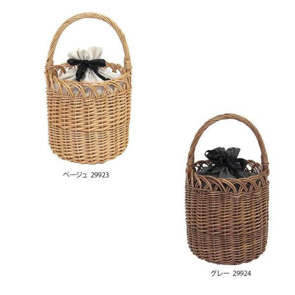 代引不可 kago bag(かごバッグ) 柳 かごバッグ バケツ型