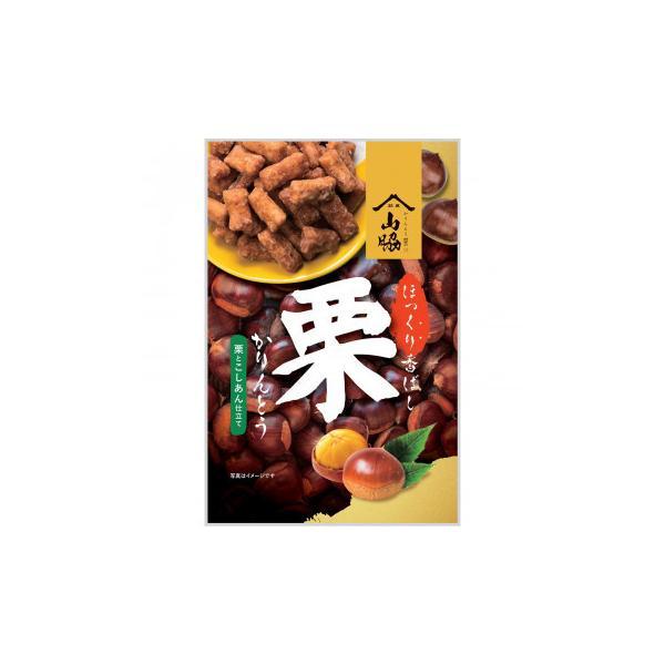 山脇製菓 栗かりんとう 100g×12袋同梱・代引不可