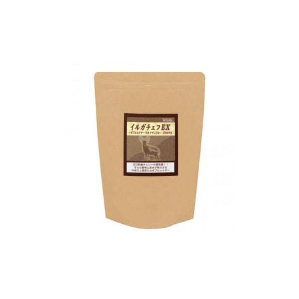 銀河コーヒー イルガチェフEX ナチュラル モカ  粉(中挽き) 350gプレゼント シティロースト コーヒー豆同梱・代引不可