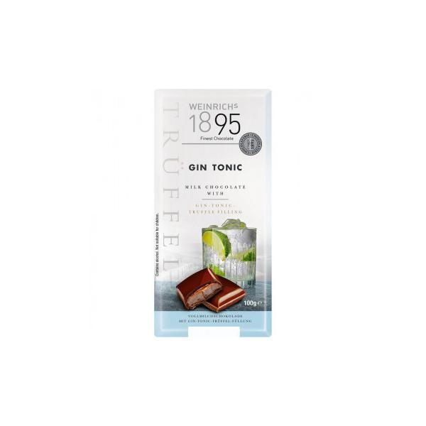 ワインリッヒ ジントニック チョコレート 100g 120セット 同梱・代引不可