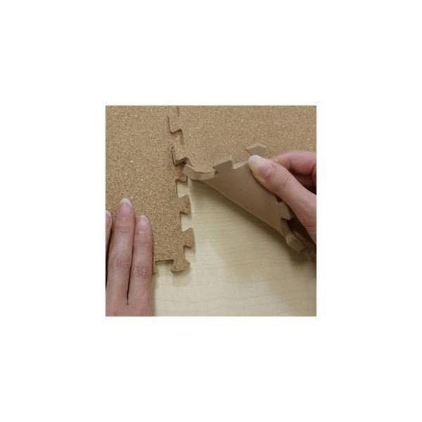 代引不可/やさしいコルクマット 約6畳(108枚入)本体&サイドパーツセット レギュラーサイズ(30cm×30cm) 〔ジョイントマット クッションマット .../代引不可|three-s7777|04