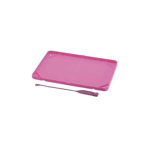 (まとめ)おでかけシーツトレー レギュラー ピンク (ペット用品) (×5セット)/代引不可