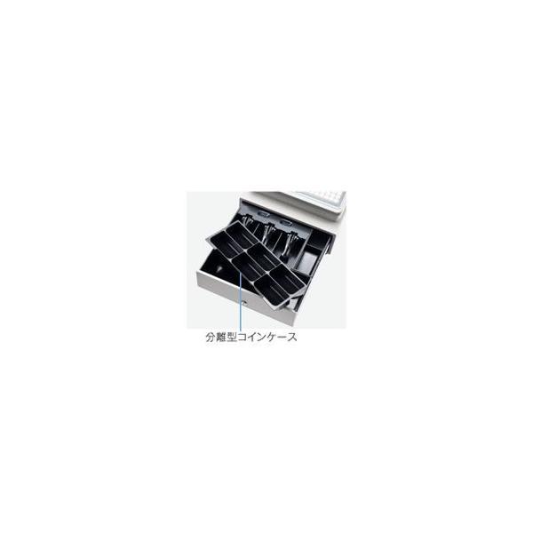 代引不可/〔業務用〕シャープ(SHARP) レジスター 本体 XE-A407ホワイト〔ロールペーパー10巻セット〕/代引不可 three-s7777 05