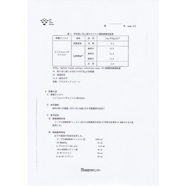 抗菌・抗ウィルス剤AAB668消臭タイプ50ml (あーぶ アーブ aab AAB 668 非アルコール 非エタノール スプレー 除菌 消臭 抗菌剤 ウイルス)|threelink|10