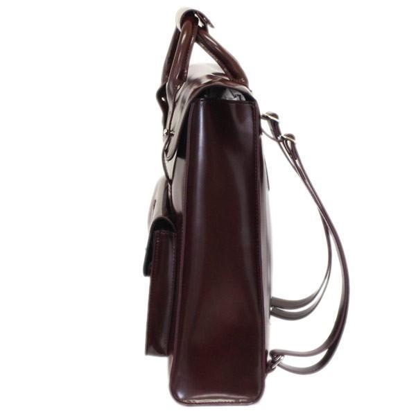 Dr.Martens (ドクターマーチン) AB094601 Small VEGAN Leather Satchel Bag スモールヴィーガンレザーバックパック CHERRY RED CAMBRIDGE BRUSH