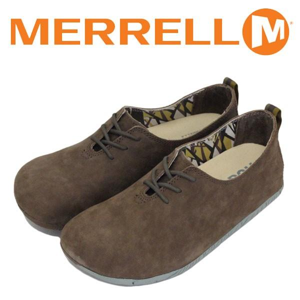 MERRELL (メレル) J20558 WMS Motopia Lace ムートピア レース レディース レザーシューズ Bronte Brown MRL034