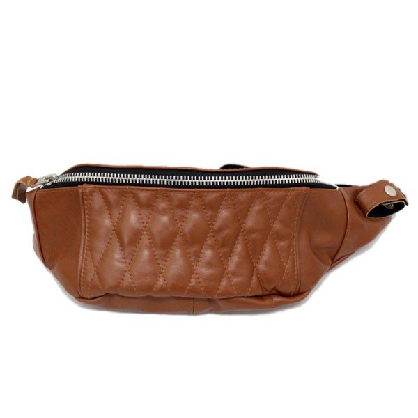 SCHOTT(ショット) 3109023-055 PADDED BODY BAG (パッデッド ボディ バッグ) BROWN ブラウン