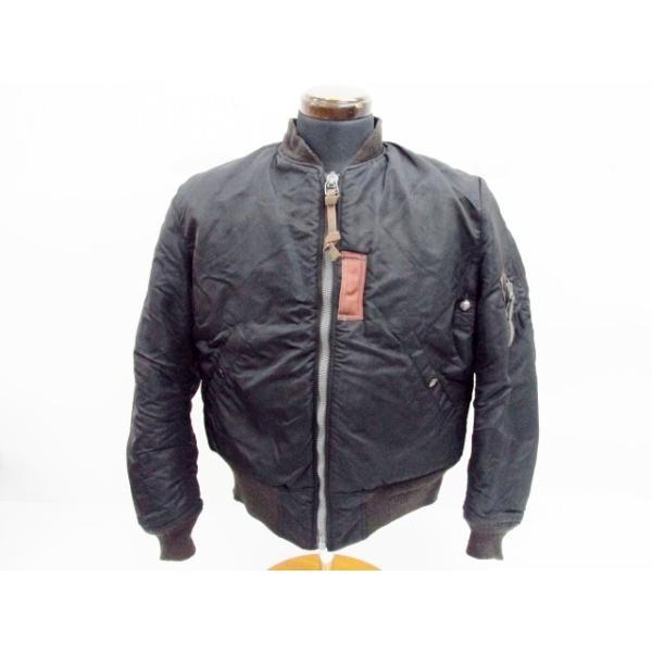 BUZZ RICKSON'S バズリクソンズ 10th MA-1 ブラック/黒 SIZE:38 中古  12/10値下済|thrift-webshop