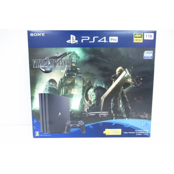 SONY プレイステーション4 Pro FINAL FANTASY VII REMAKE Pack CUHJ-10036 1TB 未使用品 ◆4744|thrift-webshop|02
