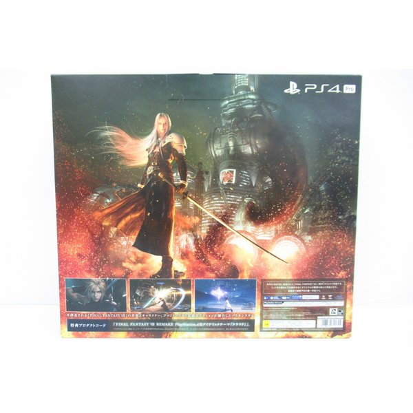 SONY プレイステーション4 Pro FINAL FANTASY VII REMAKE Pack CUHJ-10036 1TB 未使用品 ◆4744|thrift-webshop|03