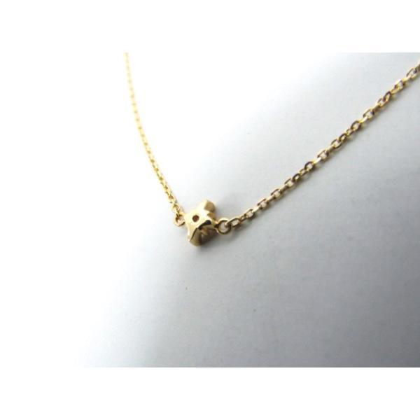 《レディースアクセサリー》4℃ ヨンドシー K10 ゴールド ダイヤモンド ブレスレット 中古